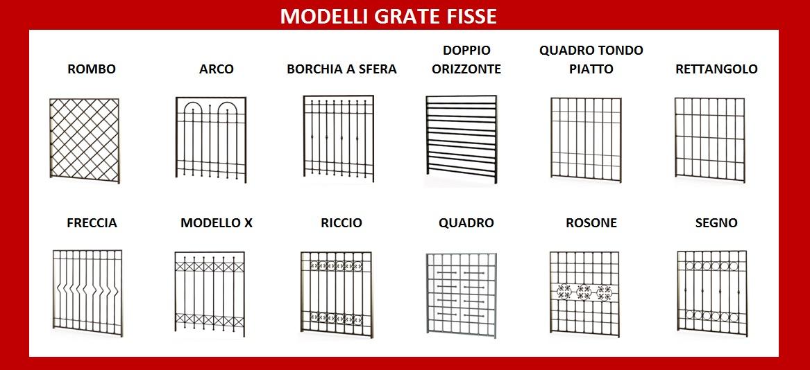 Inferriate produzione e vendita di infissi e finestre - Modelli grate per finestre ...