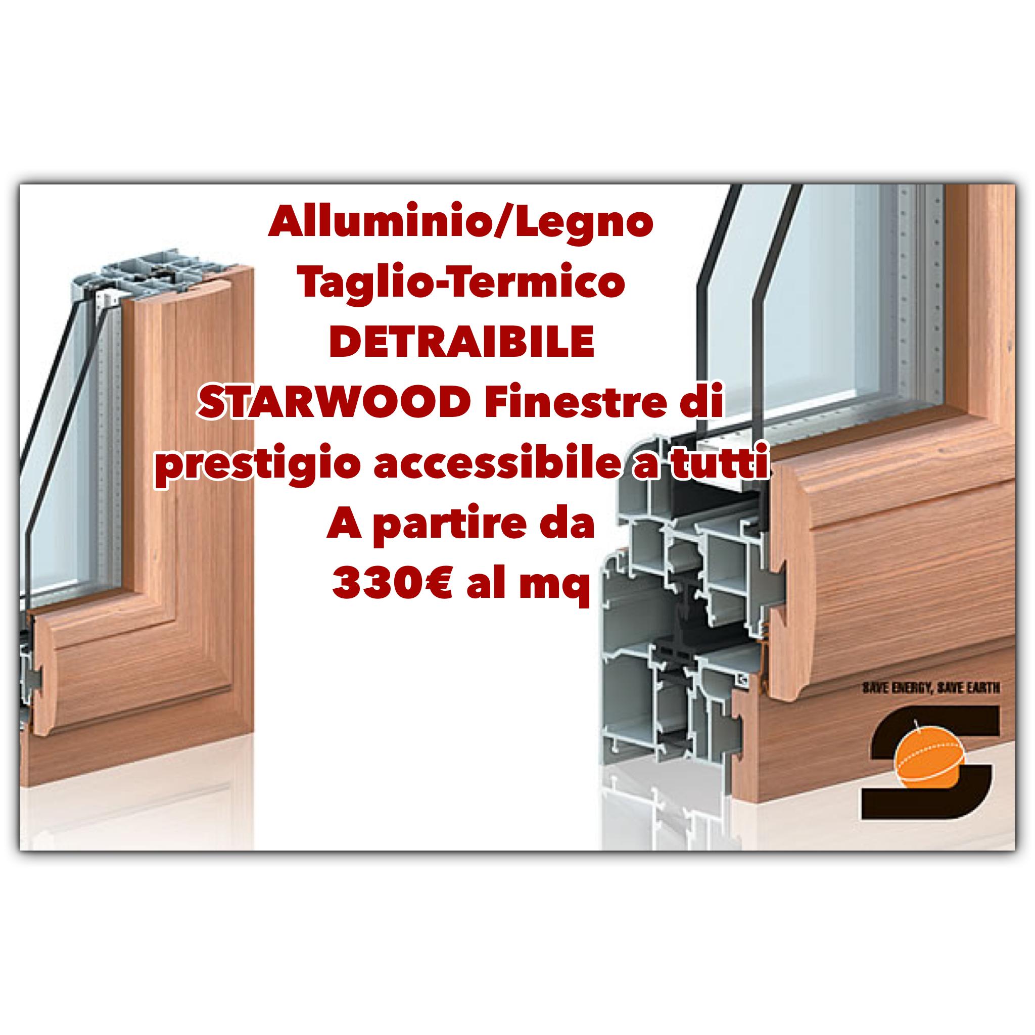 Offerte produzione e vendita di infissi e finestre for Finestre a taglio termico prezzi
