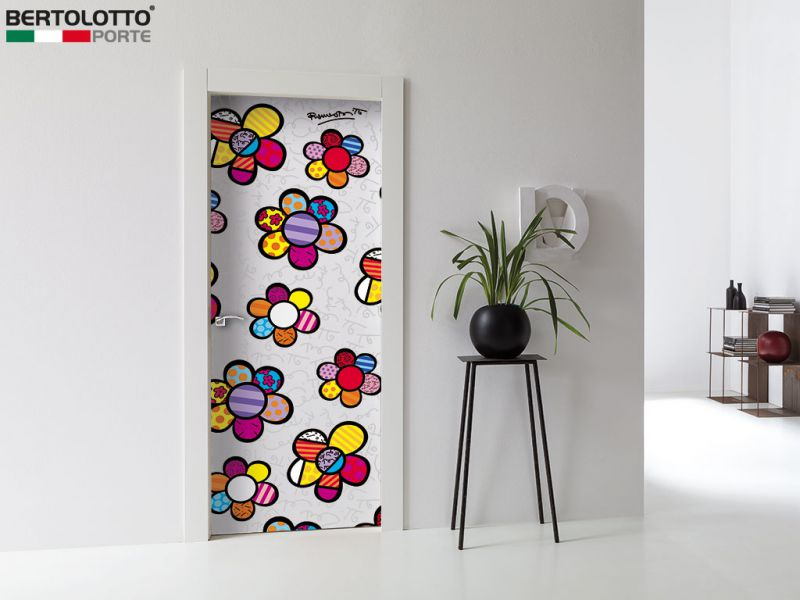 Britto Loves Bertolotto Flower power