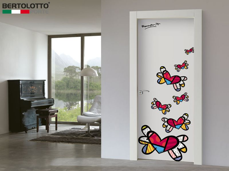 Britto Loves Bertolotto CUORI LOGO