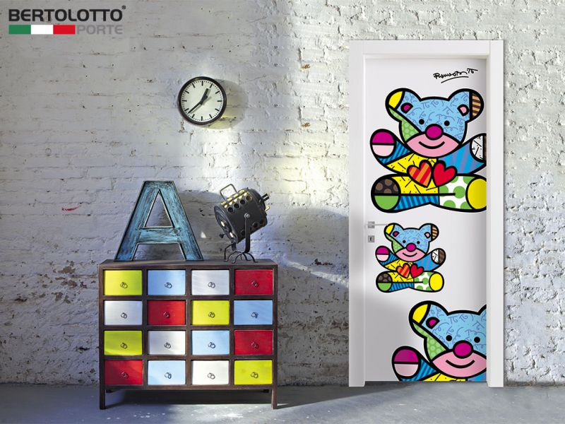 Britto Loves Bertolotto friendship bear