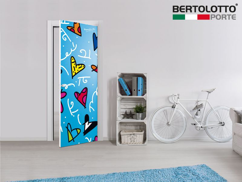 Britto Loves Bertolotto hearts